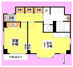 ファースト浅賀[5階]の間取り