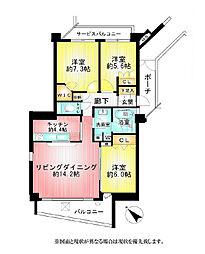 ジェイパーク向ヶ丘メイプルハウス(406)