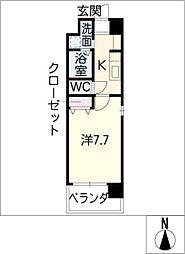 SUNNY HIGASHIYAMA[6階]の間取り