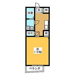 祢宜島マンション[2階]の間取り