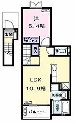 セレノカーサIII(セレノカーサスリー)[2階]の間取り