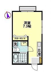 オンブラージュ[2階]の間取り