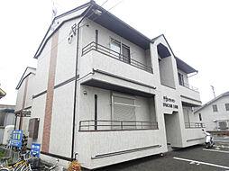 滋賀県守山市今浜町の賃貸アパートの外観