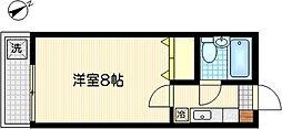 グリーンサイド獅子ヶ谷[2階]の間取り