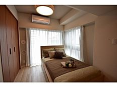 洋室にはエアコン新規設置済み