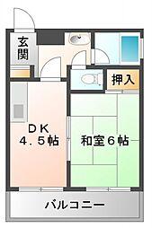 江坂グランドハイツ北[8階]の間取り