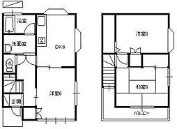 [テラスハウス] 埼玉県久喜市栄1丁目 の賃貸【/】の間取り