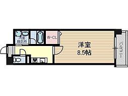 リラクシア千里[3階]の間取り