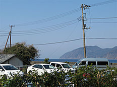 天候がいいと富士山も望めます。