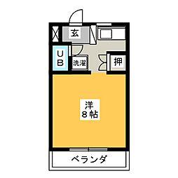TOGETHER21 B棟[4階]の間取り