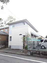 東京都北区浮間4の賃貸アパートの外観