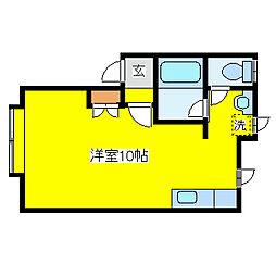 アーバンポイムA棟[2階]の間取り