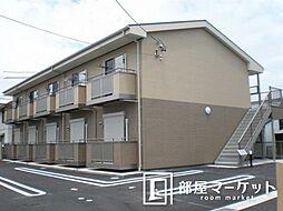 愛知県豊田市上原町上原の賃貸アパートの外観