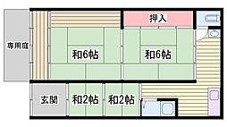 京口駅 4.5万円