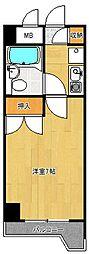 新潟県新潟市中央区天神尾1丁目の賃貸マンションの間取り