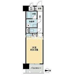 ライオンズマンション内山下[3階]の間取り