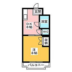 マンションストークVII[2階]の間取り