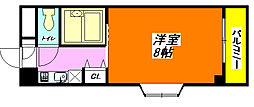 アベニューリップル長田パートI 505号室[5階]の間取り