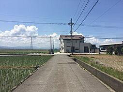 前面道路 南側