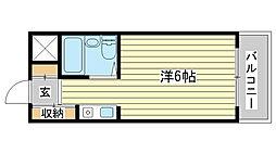 マヨ姫路[405号室]の間取り