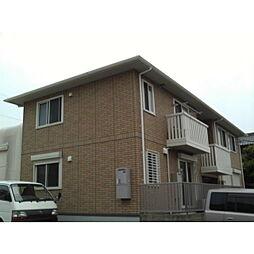 愛知県名古屋市中川区万場2丁目の賃貸アパートの外観