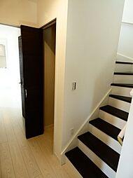 階段下収納です...