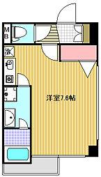 アドバンス高田馬場[3階]の間取り