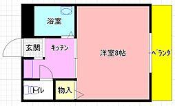 岩田町5 greens' mansion[202号室]の間取り