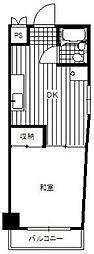 神奈川県横浜市南区吉野町2丁目の賃貸マンションの間取り