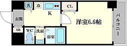 フレアコート梅田[11階]の間取り