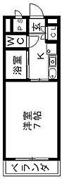 スプリングイセヤマ[2階]の間取り