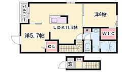 JR姫新線 本竜野駅 徒歩15分の賃貸アパート