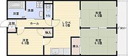 パールハイツ21[1階]の間取り