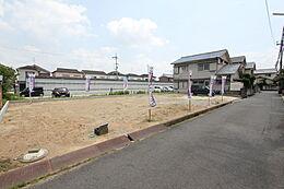 奈良県橿原市東坊城町の売土地-全2区画-