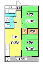 三沢ビル[2階]の間取り