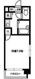 CityLifeプレサンス新大阪[8階]の間取り