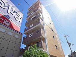 滋賀県大津市柳が崎の賃貸マンションの外観