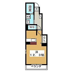 サンプレイスII[1階]の間取り