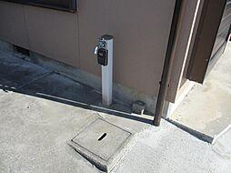 駐車場の入口付...