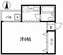 第11長栄シャトー泉[202号室]の間取り