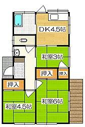 [一戸建] 福岡県筑紫野市塔原東3丁目 の賃貸【/】の間取り