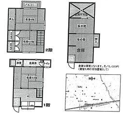[テラスハウス] 兵庫県尼崎市武庫之荘1丁目 の賃貸【/】の間取り