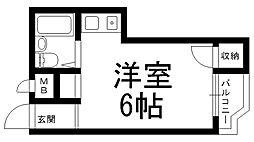 シティライフ林[0303号室]の間取り