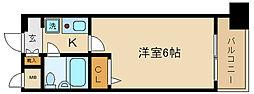 エスリード京都河原町第3[1208号室]の間取り