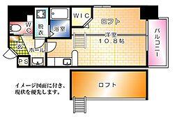 KatayamaBLDG19[501号室]の間取り