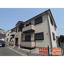 奈良県奈良市平松1丁目の賃貸アパートの外観