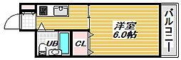 東洋プラザ住吉[3階]の間取り
