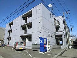北海道札幌市東区北十六条東10丁目の賃貸マンションの外観