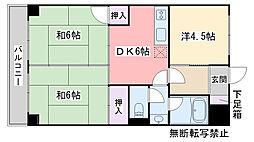 福岡県福岡市西区愛宕南1丁目の賃貸マンションの間取り