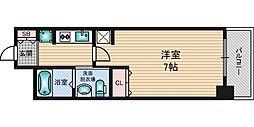 エステムコート新大阪10ザ・ゲート[6階]の間取り